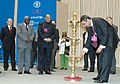Anbumani Ramdoss lighting the lamp to inaugurate the three-day New Delhi International Ministerial Conference on Avian and Pandemic Influenza (4-6 December, 2007), in New Delhi on December 04, 2007.jpg