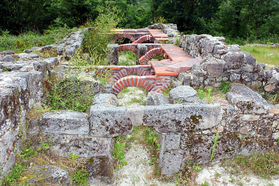 Ancient Roman thermae in Lobios, Ourense, Galicia, Spain-2