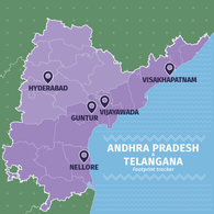 Andhra Pradesh and Telangana Footprint.png