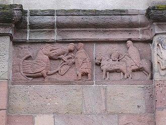 Master of Andlau - Image: Andlau Abbatiale 085