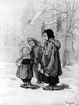 André-Henri Dargelas - Children Going to Church - Walters 371407