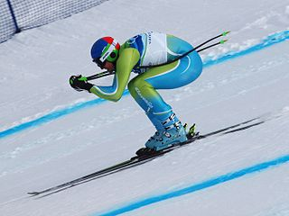 Downhill (ski competition) alpine skiing discipline