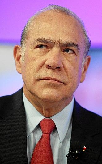 José Ángel Gurría - Ángel Gurría at the World Economic Forum Annual Meeting 2012