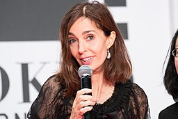 Anne Parillaud at Opening Ceremony of the Tokyo International Film Festival 2016 (33486630822)