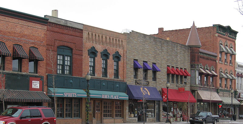 File:Another portion of the west side block of Lapeer Road.jpg