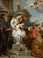 Maria mit Kind und den Hll. Rosalia, Petrus und Paulus