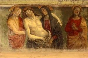 Antonio del Massaro - Il Pastura's Deposizione (Descent from the Cross), Canino, Viterbo, Church of San Francesco.