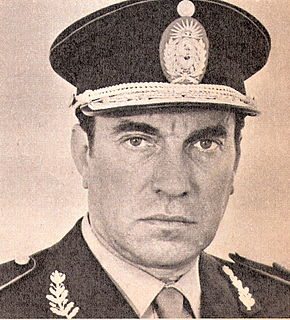 Argentine Army general and politician