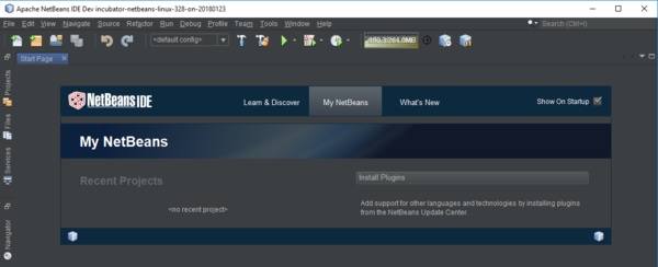 Setting up netbeans ide with javafx.