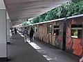 Aquarel (Watercolor) train at Izmaylovskaya station (Метропоезд Акварель на станции Измайловская) (3731223111).jpg