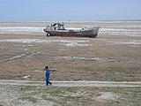 A kiszáradó Aral-tó
