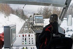 Bourg-Saint-Maurice - Arc en Ciel funicular railway
