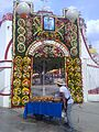 Arc of Patronage party of the Precious blood of Christ in Xicohtzinco, Tlaxcala.jpg