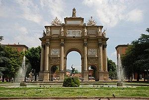 Triumphal Arch of the Lorraine, Florence - Arca di Lorena