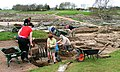 Archaeologists at Work in Vindolanda - geograph.org.uk - 162180.jpg
