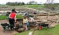 Archaeologists at Work in Vindolanda - geograph.org.uk - 162180.jpg