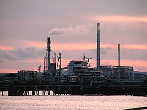 Porto Torres - Chemical industries in Porto Torres