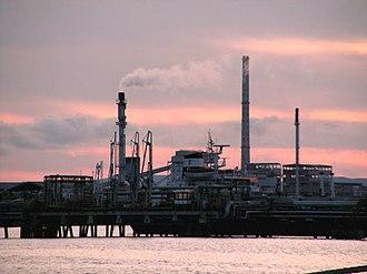 Porto Torres - Chemical industries in Porto Torres