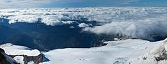 Argentina - Mt Tronador Ascent - 25 - above the clouds (6962456035).jpg