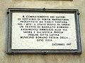 Ariccia - targa su P. Napoletana.JPG