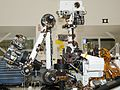 Arm and Mast of NASA Mars Rover Curiosity 533976main pia13981-43 full.jpg