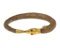 Armband av hår i form av en orm, 1830-tal - Hallwylska museet - 110139.tif