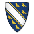 Armorial Bearings of the DE LA BEREs of Rotherwas and Bodenham, Herefs.png