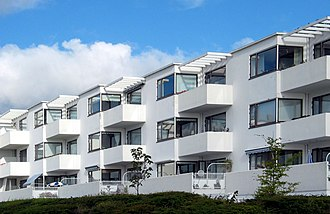 Bellavista housing estate - Jacobsen's Bellavista complex