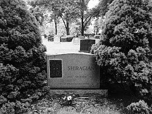 Arshavir Shirakian - Shirakian's headstone at Hackensack Cemetery in Hackensack, New Jersey