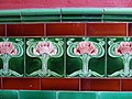 Art Nouveau tiles - geograph.org.uk - 1057234.jpg
