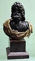 Arte romana con restauri moderni, busto giove ammone.JPG