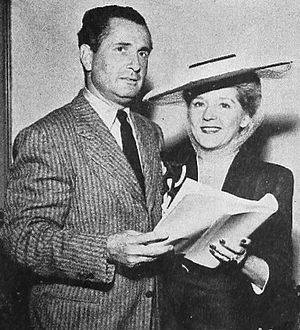 Arthur Lubin - Lubin with Mary Pickford in 1943