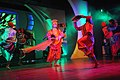 Artists performing regional traditional dance at the closing ceremony of the 42nd International Film Festival of India (IFFI-2011), at Panaji, Goa on December 03, 2011.jpg