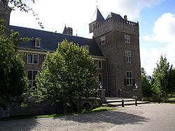 Assumburg castle in Heemskerk