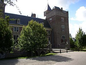 Heemskerk - Assumburg castle in Heemskerk
