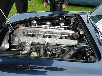 Aston Martin DB5 - An Aston Martin DB5 engine