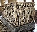 Atene, sarcofago con achille licomede, 240 dc ca, da roma, collez. borghese, 08.JPG