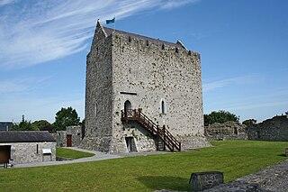 Athenry Town in Connacht, Ireland