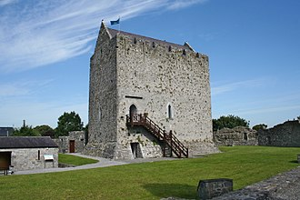 First Battle of Athenry - Athenry Castle, built by the Normans in the early 13th century