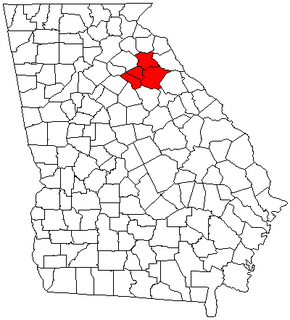 Athens – Clarke County metropolitan area human settlement in United States of America