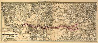 Atlantic and Pacific Railroad subsidiary of the Santa Fe Railway