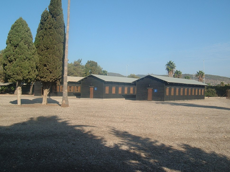 Atlit barracks