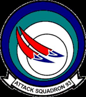 VA-93 (U.S. Navy) - VA-93 squadron insignia