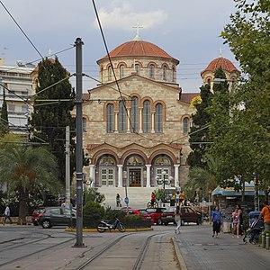 Palaio Faliro - The church of the Assumption of the Virgin (Panagitsa)
