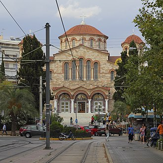 Palaio Faliro - The church of the Assumption of the Virgin (Panagitsa)