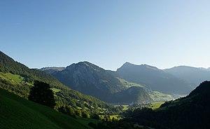 Morning in Au, Bregenzerwald
