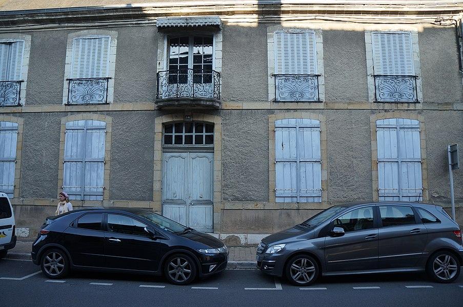 Hôtel 14 rue Cambournac  Aubigny-sur-Nère|  Cher (département), France