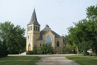 Grenfell, Saskatchewan - Grenfell United Church 2011.