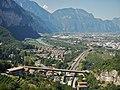 Ausblick von der Seilbahn Funivia Trento - Sardagna - panoramio (1).jpg