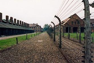 Laure Gatet - Auschwitz Concentration Camp where Gatet later died